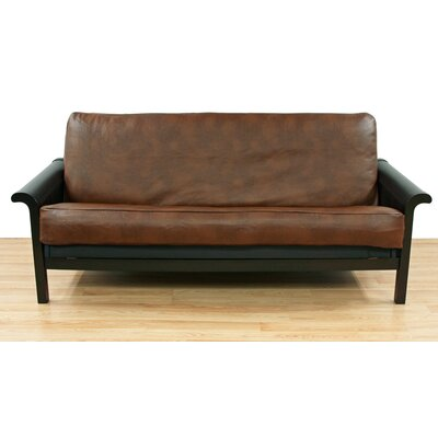 Faux Leather Futon Slipcover
