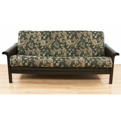 Ashante Floral Cotton Blend Futon Slipcover
