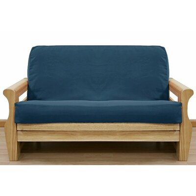 Ultra Marine Box Cushion Futon Slipcover