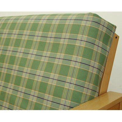 Woodland Plaid Box Cushion Futon Slipcover
