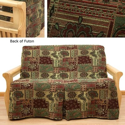 Arabian Box Cushion Futon Slipcover