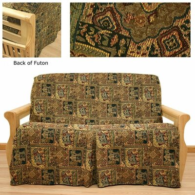 Bombay Skirted Futon Slipcover