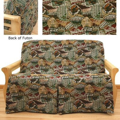 Travel Skirted Futon Slipcover