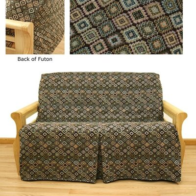 Southwest Box Cushion Futon Slipcover