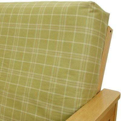 Montrose Sage Box Cushion Futon Slipcover