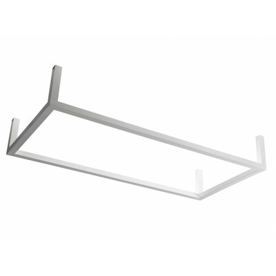 Framework G 4-Light Flush Mount Size: 8.8 H x 73.25 W x 35.38 D
