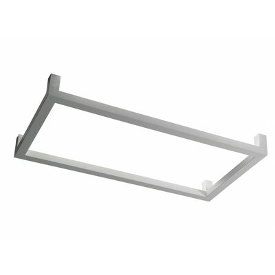 Framework P 2-Light Flush Mount Size: 12.32 H x 50 W x 25.63 D