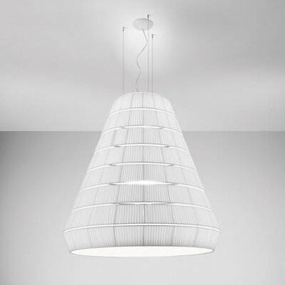 Layers E 9-Light Pendant Shade Color: Maroon