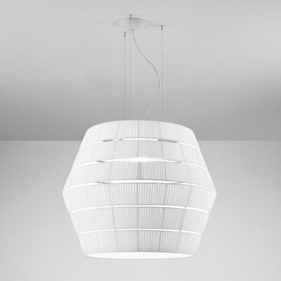 Layers G 3-Light Pendant Shade Color: Neutral White