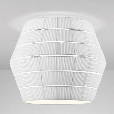 Layers G 3-Light Flush Mount Shade Color: Neutral White