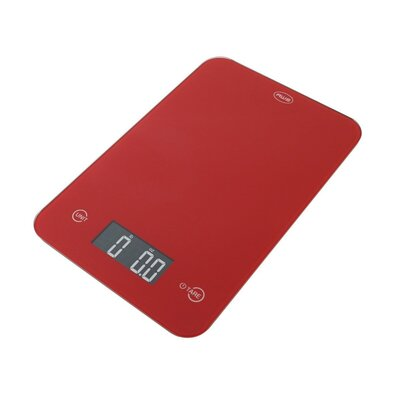 Thin Digital Kitchen Scale Color: Red ONYX-5K-RD