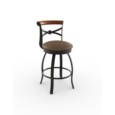 Library Luxe Style 29.75 Swivel Bar Stool