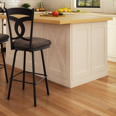 Countryside Style 31.63 inch Swivel Bar Stool