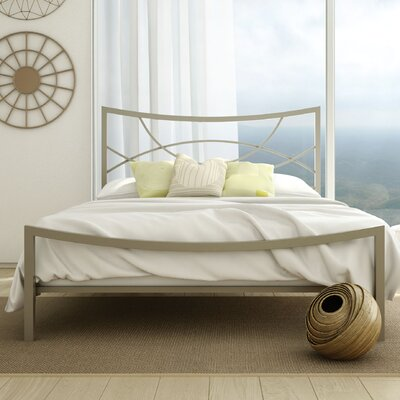 Equinox Platform Bed Size: Queen, Color: Matte Light Grey