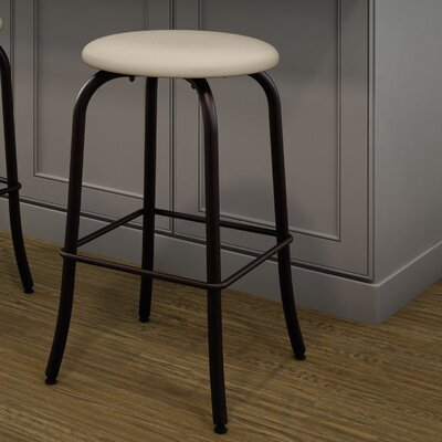 Flare 30.63 Swivel Bar Stool Finish: Textured Dark Brown/Beige