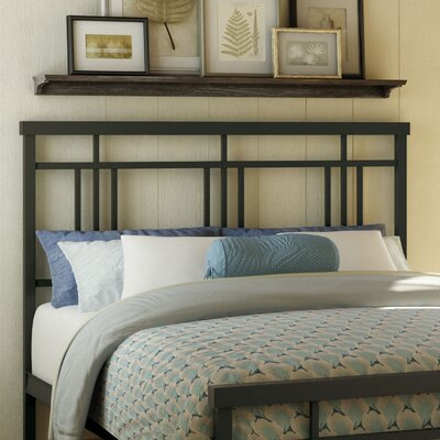 Cottage Open-Frame Headboard and Footboard Size: Full, Finish: Textured Dark Brown