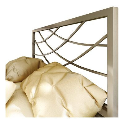 Altess Open-Frame Headboard Size: Full, Color: Matte Light Grey