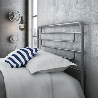 Pier Open-Frame Headboard Size: Full, Finish: Glossy Grey