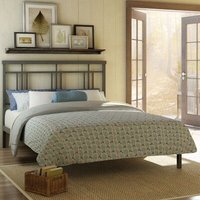 Cottage Platform Bed Size: Full, Color: Matte Dark Grey