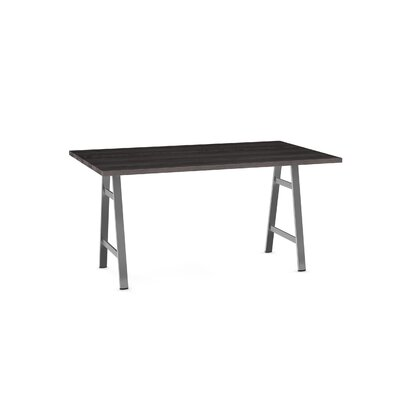 Maya Dining Table Base Color / Top Color: Gray/Dark Gray