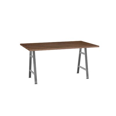 Maya Dining Table Base Color / Top Color: Gray/Brown