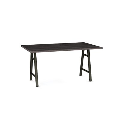 Maya Dining Table Base Color / Top Color: Black/Dark Gray