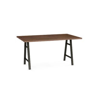 Maya Dining Table Base Color / Top Color: Black/Brown