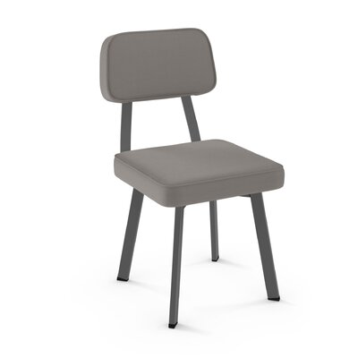 Cloran Upholstered Dining Chair Finish: Gray