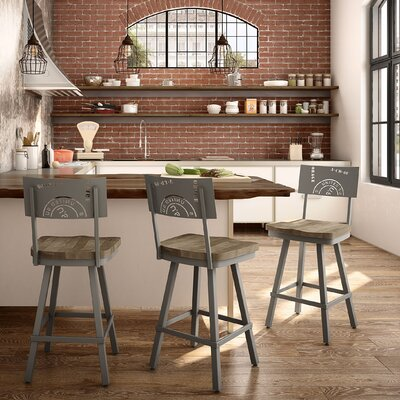 Harleigh 26 Bar Stool Finish: Beige