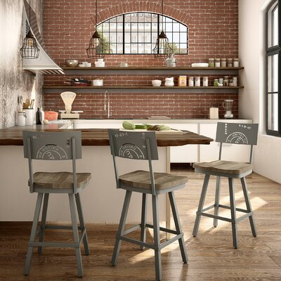 Harleigh 30 Bar Stool Finish: Beige