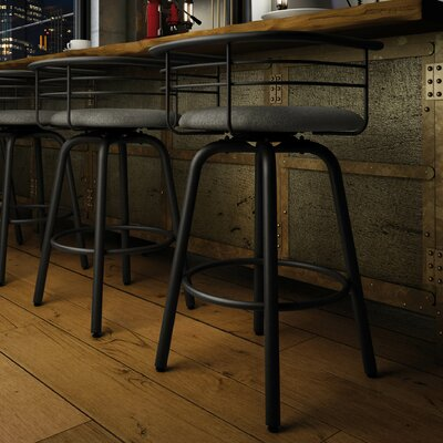 Ulrike 30.25 Bar Stool Color: Gray