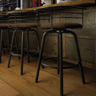 Ulrike 26.25 Bar Stool Color: Brown