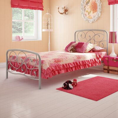 Rent to own Serpentine Twin Steel Bed...