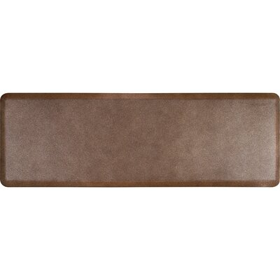 Granite Original Smooth Kitchen Mat Color: Granite Copper, Rug Size: 2 x 6