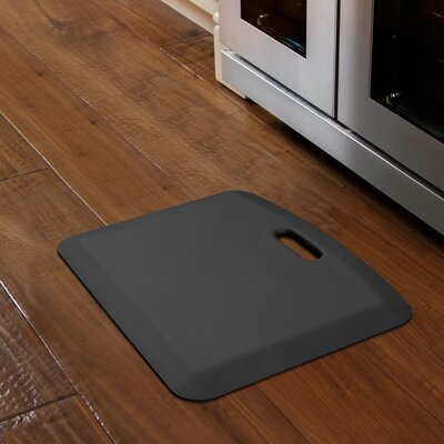 Companion Solid Kitchen Mat Color: Black