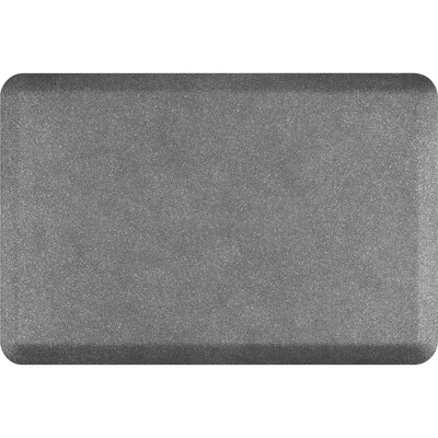Granite Original Smooth Kitchen Mat Color: Granite Steel, Rug Size: 2 x 3
