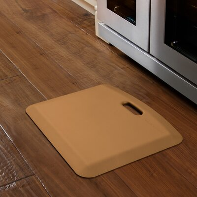 Companion Solid Kitchen Mat Color: Tan