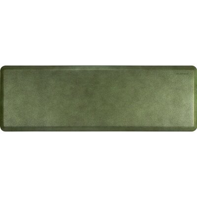 Spengler Original Smooth Kitchen Mat Mat Size: Rectangle 2 x 6, Color: Emerald
