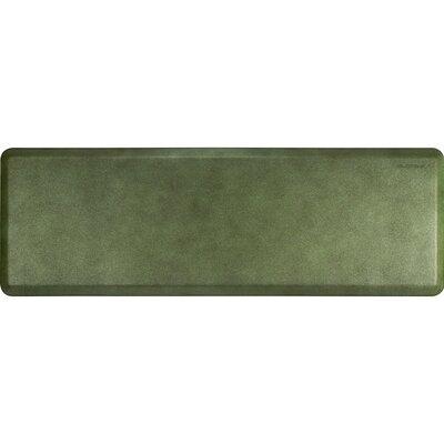 Granite Solid Mat Rug Size: 2 x 6