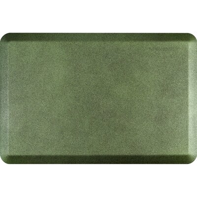 Spengler Original Smooth Kitchen Mat Mat Size: Rectangle 2 x 3, Color: Emerald