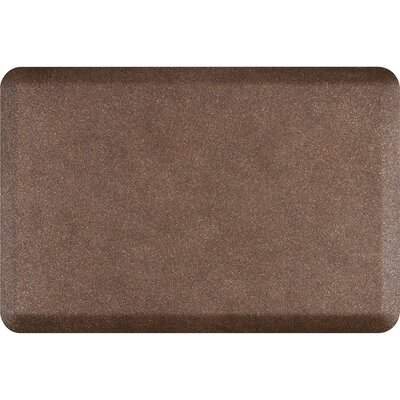 Granite Original Smooth Kitchen Mat Color: Granite Copper, Rug Size: 2 x 3