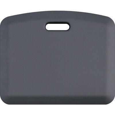 Companion Solid Kitchen Mat Color: Gray
