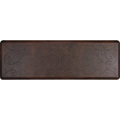 Antique Bella Mat Color: Dark, Mat Size: Rectangle 2 x 3