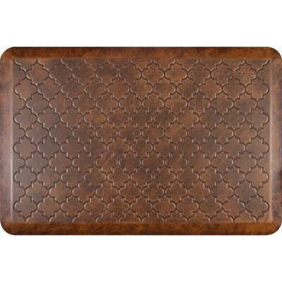 Motif Trellis Antique Kitchen Mat Color: Antique Light, Rug Size: 2 x 3