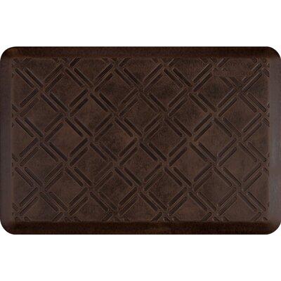 Motif Moire Antique Kitchen Mat Color: Antique Dark, Rug Size: Rectangle 2 x 3