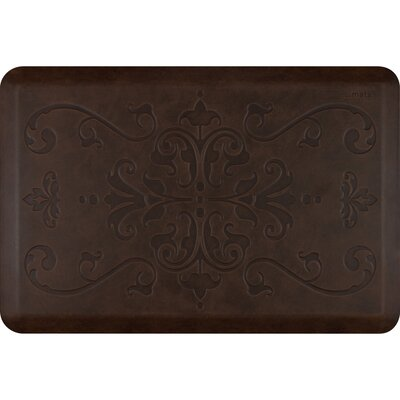 Motif Entwine Antique Kitchen Mat Color: Antique Dark, Rug Size: 2 x 3