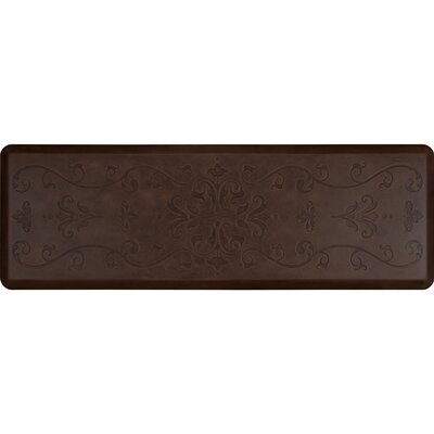 Antique Kitchen Mat Color: Antique Dark, Mat Size: Rectangle 2 x 6