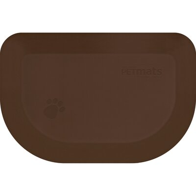 Pet Mat Color: Brown