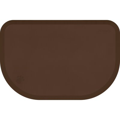 Pet Mat Color: Brown, Size: Extra Large: (54 L x 36 W)