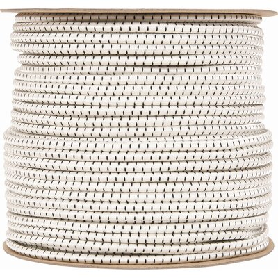 Shock Cord Color: Natural, Size: 0.31 x 500 Feet